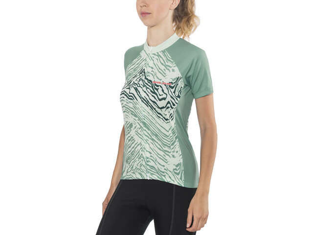 PEARL iZUMi Select Escape Graphic Shortsleeve Jersey Damen arctic/ mist green phyllite